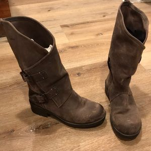 Brown Suede Boots size8